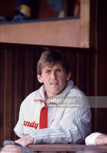 Liverpool manager Kenny Dalglish looks on during the Barclays League Division One match between Coventry City and Liverpool at Highfield Road on May...