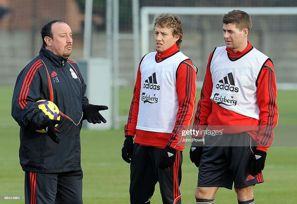 Liverpool FC Training Session : ニュース写真