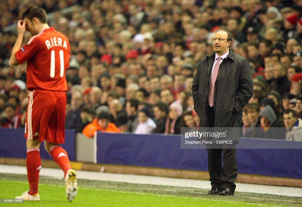 Soccer - UEFA Europa League - Round of 32 - First Leg - Liverpool v Unirea Urziceni - Anfield : News Photo