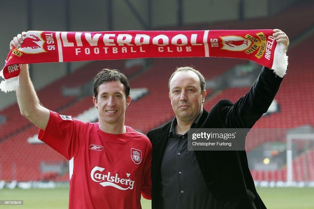 Liverpool Press Conference with Robbie Fowler : Foto di attualità