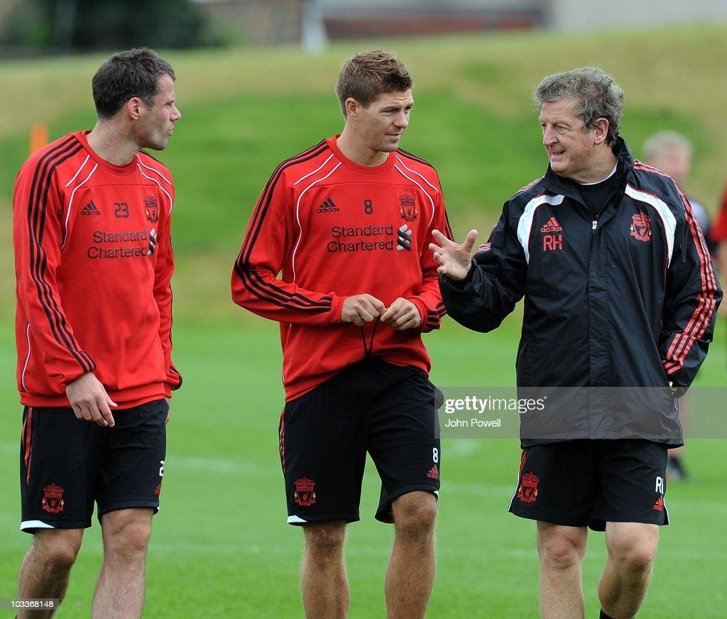 Liverpool FC Training Session : Nachrichtenfoto