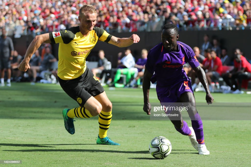 SOCCER: JUL 22 International Champions Cup - Liverpool FC v Borussia Dortmund : News Photo
