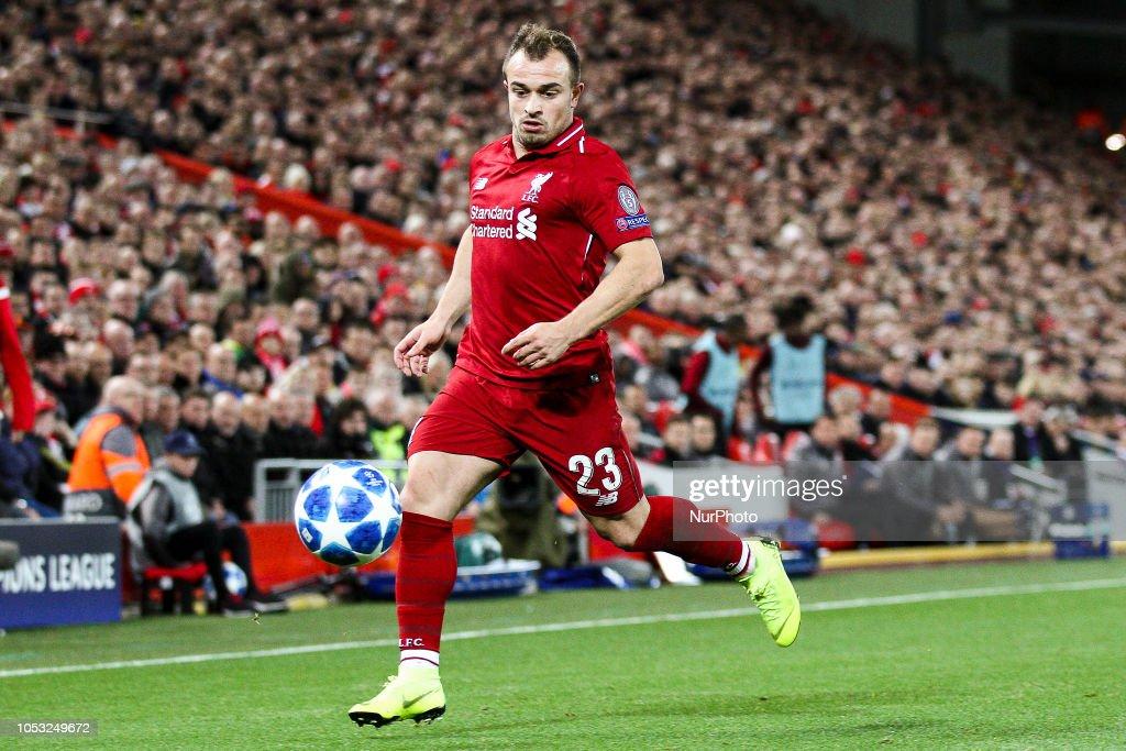 Liverpool v FK Crvena Zvezda - UEFA Champions League Group C : News Photo