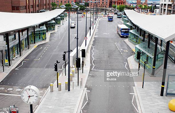 Liverpool One Bus Station from above