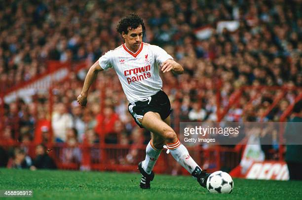 Liverpool player Craig Johnston in action during a League Division One match between Manchester United and Liverpool at Old Trafford on October 19...