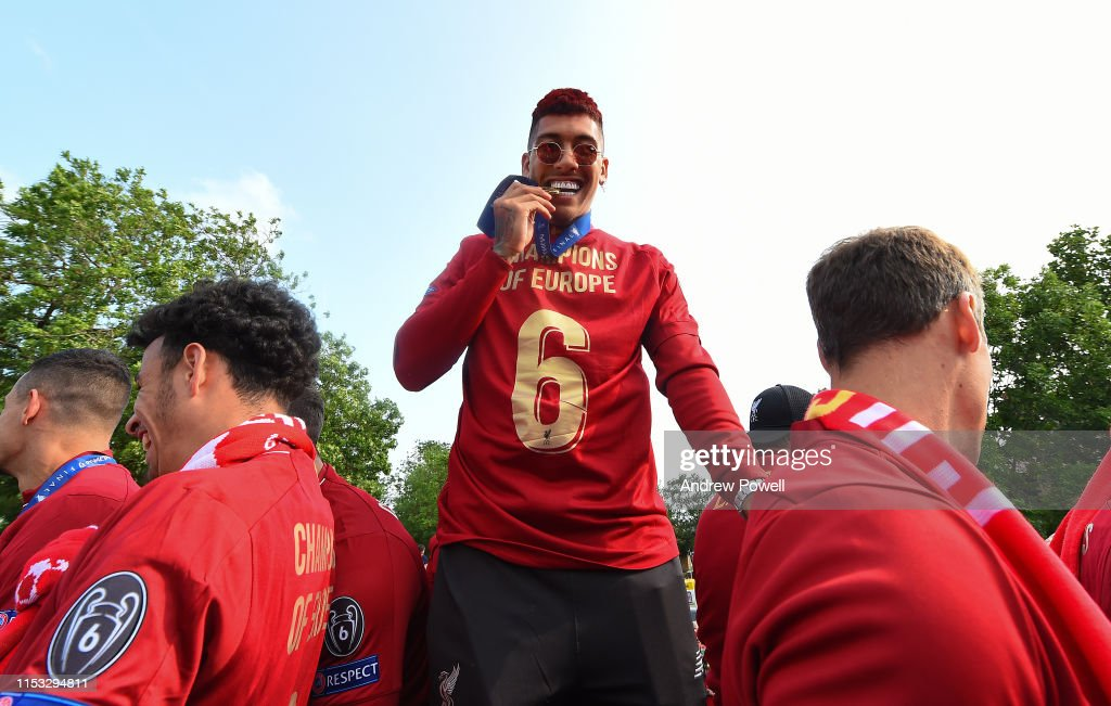 Liverpool Parade to Celebrate Winning UEFA Champions League : ニュース写真