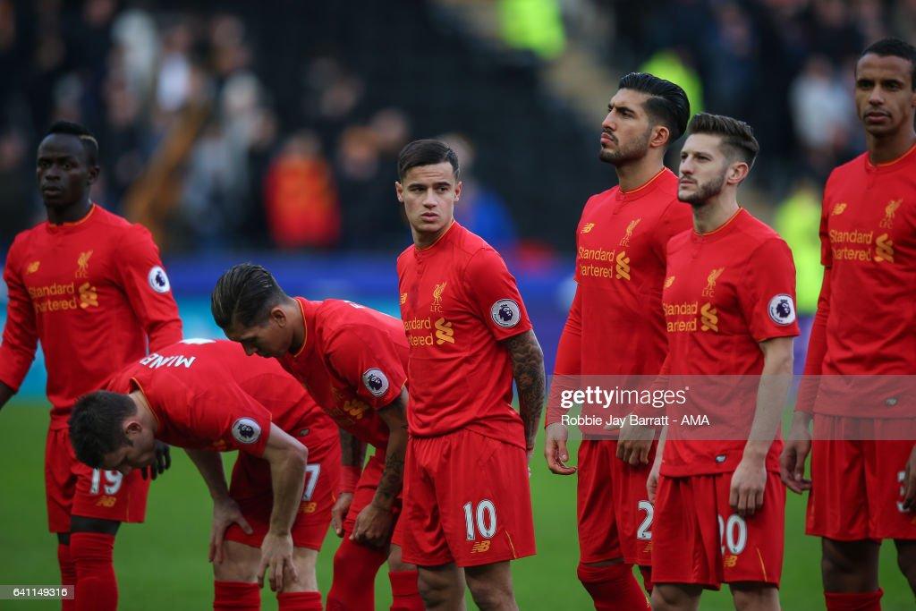 Hull City v Liverpool - Premier League : ニュース写真