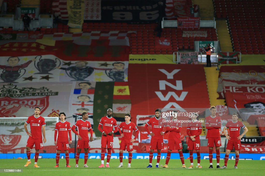 Liverpool v Arsenal - Carabao Cup Fourth Round : ニュース写真