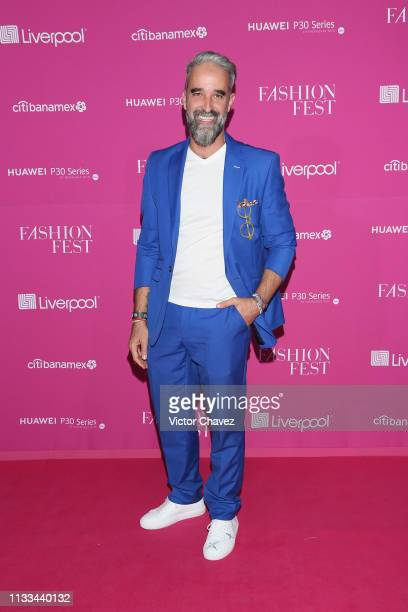 Liverpool Public Relations director Ignacio Aguiriano attends the Liverpool Fashion Fest Spring/Summer 2019 at Quarry Studios on March 28 2019 in...