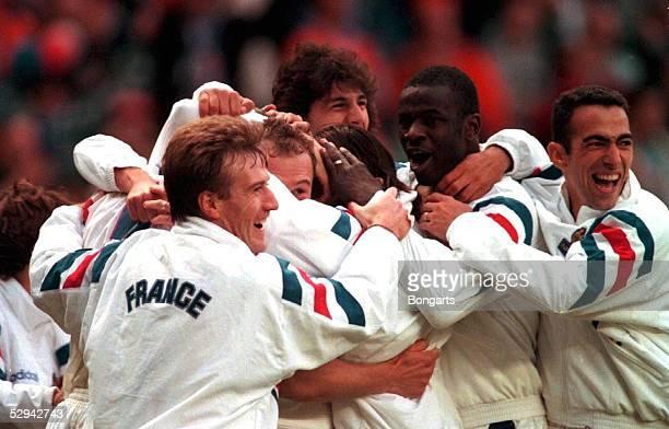 Liverpool Schlussjubel Frankreich