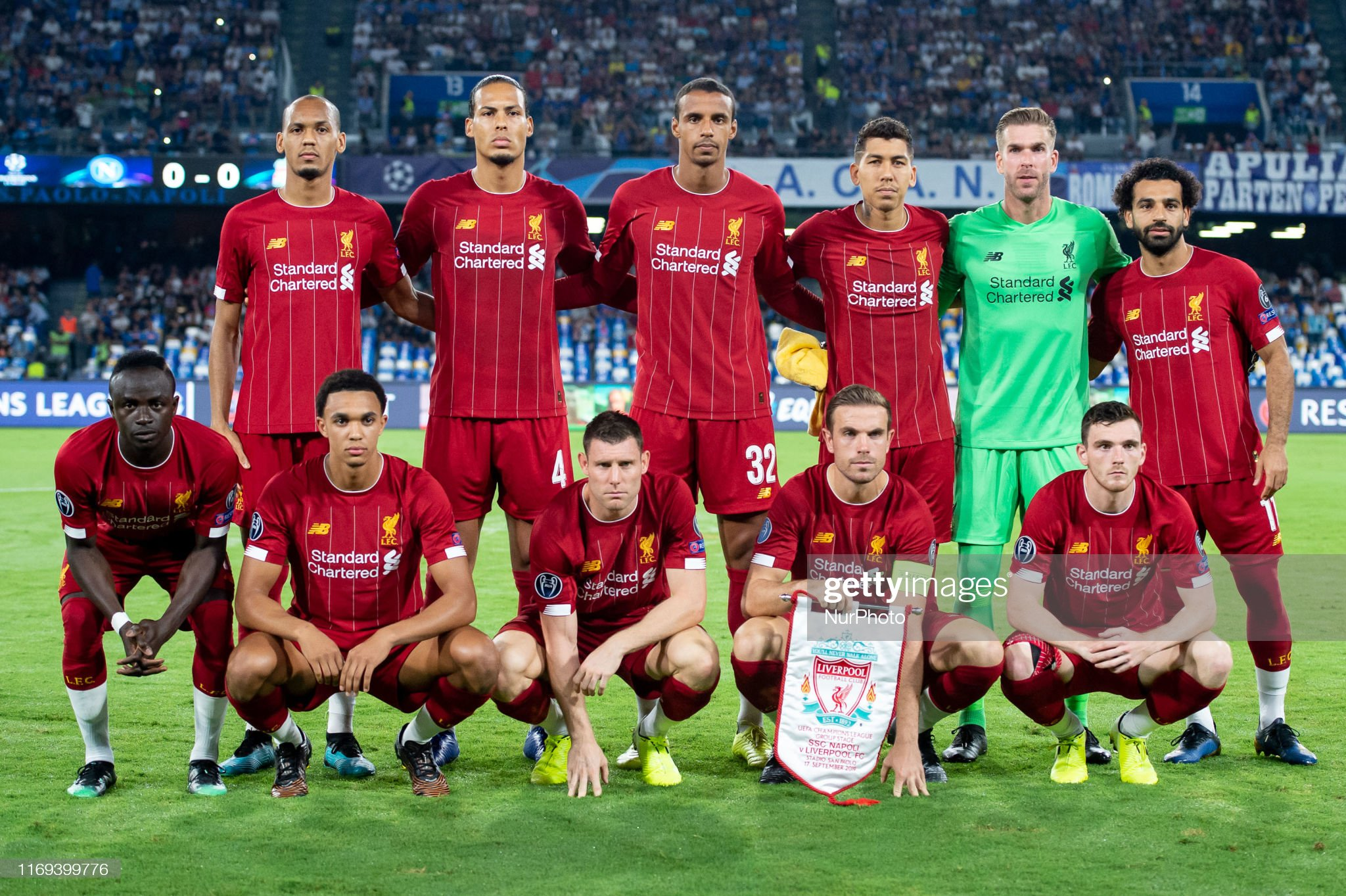 Napoli v Liverpool - UEFA Champions League : News Photo