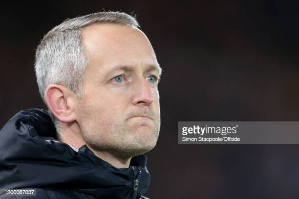Liverpool standin manager Neil Critchley looks on during the FA Cup Fourth Round Replay match between Liverpool and Shrewsbury Town at Anfield on...
