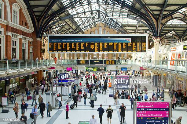 Liverpool Street Station during Olympics