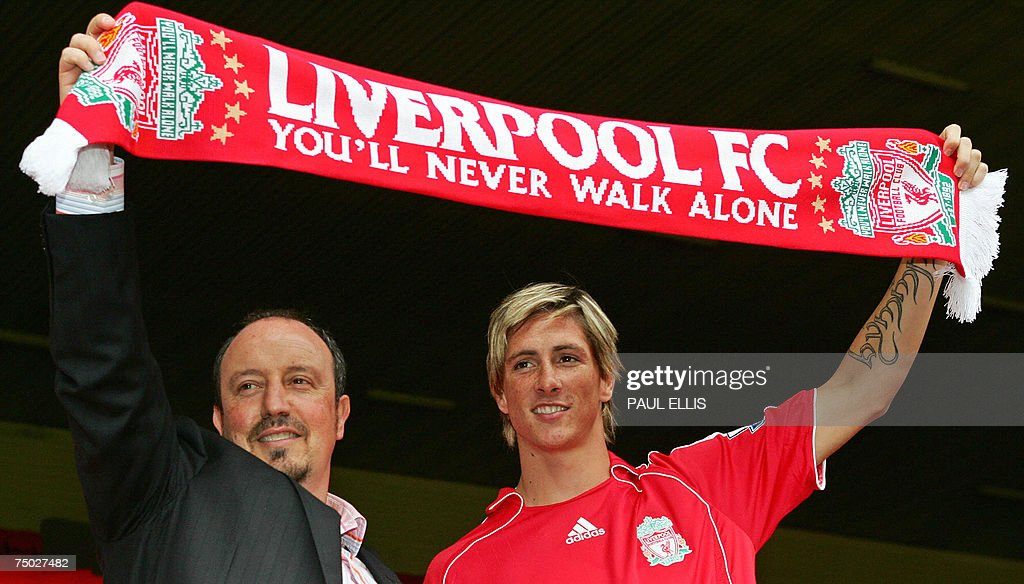 Liverpool football club manager Rafael B... : ニュース写真