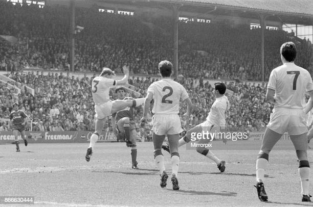 Liverpool v Nottingham Forest, FA Cup match action at Hillsborough Stadium, Sheffield, Saturday 15th April 1989. Prior to the Hillsborough disaster...