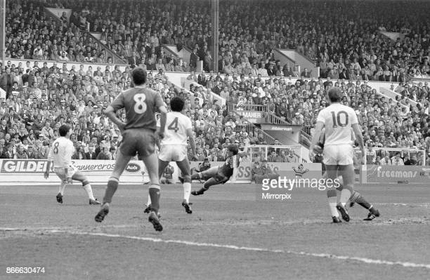 Liverpool v Nottingham Forest FA Cup match action at Hillsborough Stadium Sheffield Saturday 15th April 1989 Prior to the Hillsborough disaster was a...
