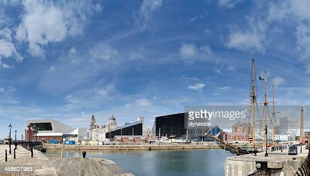 Liverpool front de mer avec vue panoramique