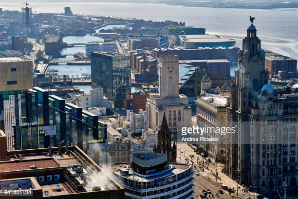 liverpool waterfront, united kingdom - merseyside stock pictures, royalty-free photos & images
