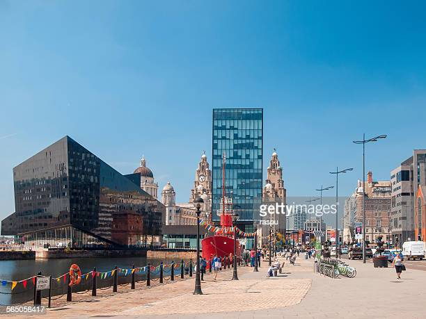 Liverpool,Port and Strand St.
