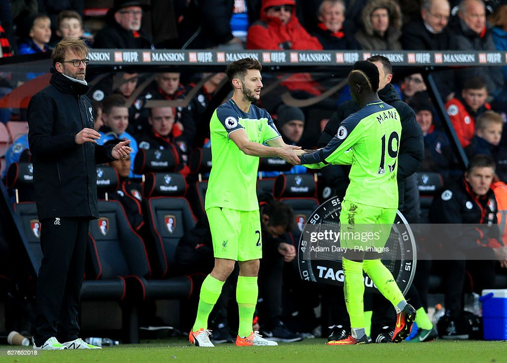 AFC Bournemouth v Liverpool - Premier League - Vitality Stadium : News Photo