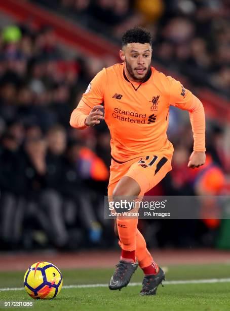 Liverpool's Alex OxladeChamberlain