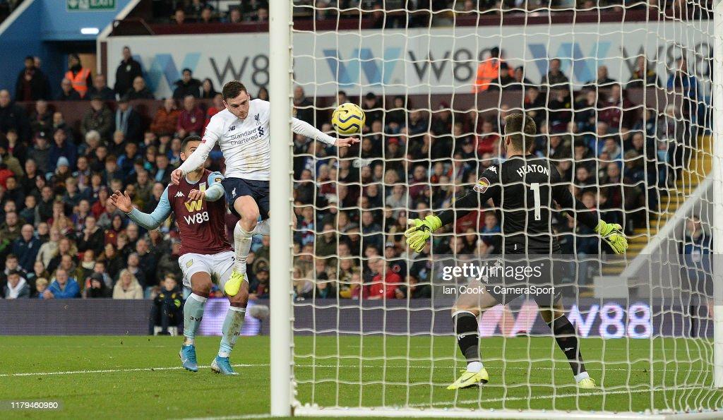 Aston Villa v Liverpool FC - Premier League : News Photo