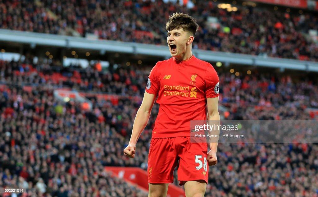 Liverpool v Burnley - Premier League - Anfield : News Photo