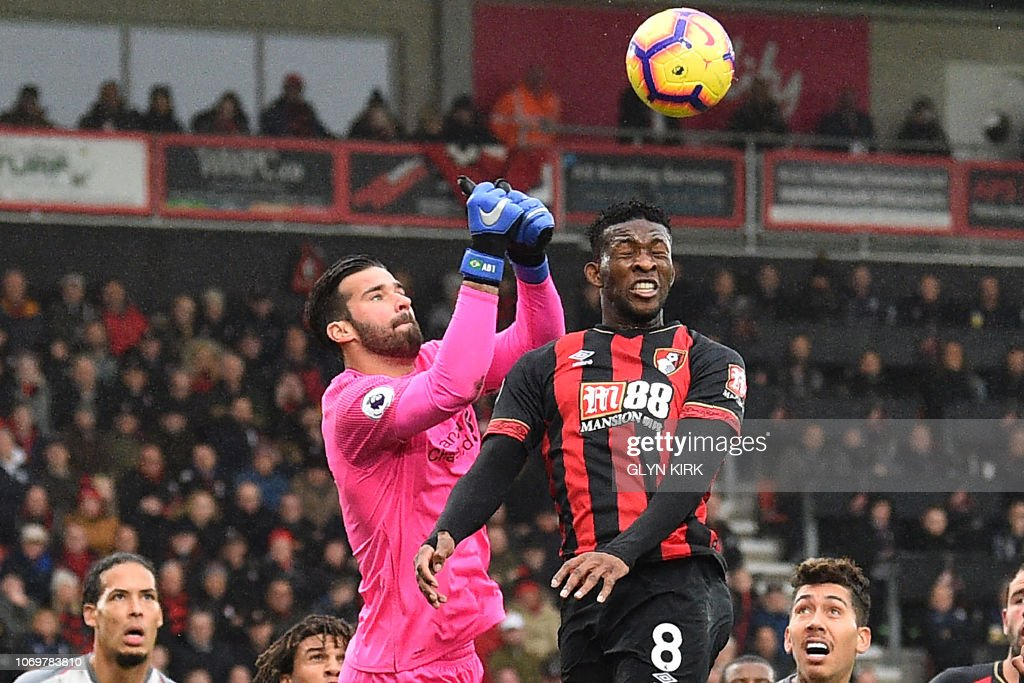 FBL-ENG-PR-BOURNEMOUTH-LIVERPOOL : News Photo