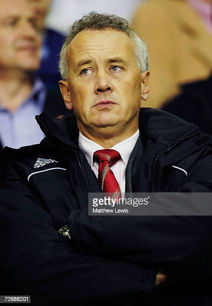 Liverpool's Chief Executive Rick Parry looks on during the Barclays Premiership match between Liverpool and Portsmouth at Anfield on November 29 2006...