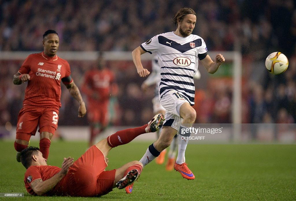 FBL-EUR-C3-LIVERPOOL-BORDEAUX : News Photo