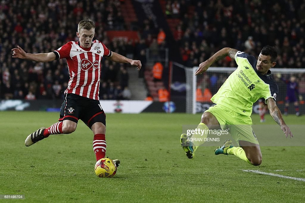 FBL-ENG-LCUP-SOUTHAMPTON-LIVERPOOL : News Photo