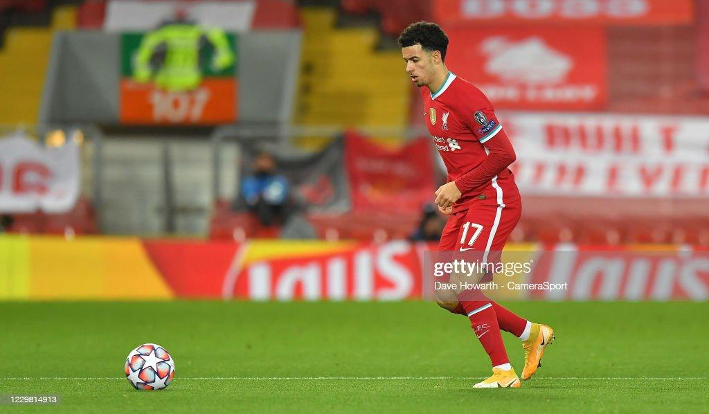 Liverpool FC v Atalanta BC: Group D - UEFA Champions League : News Photo