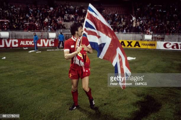 Liverpool's David Johnson celebrates victory