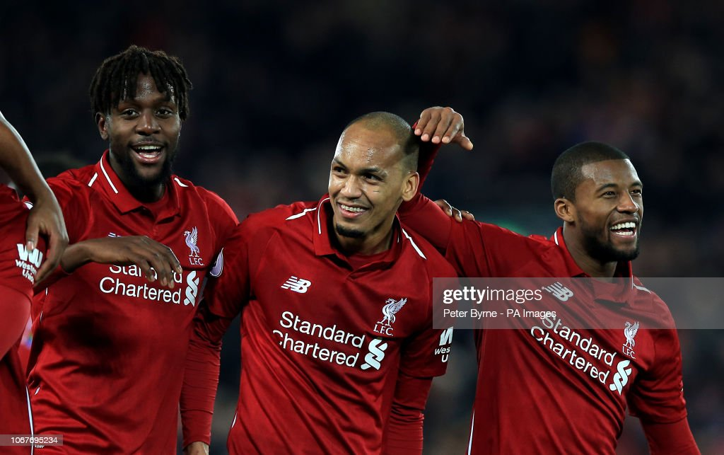 Liverpool v Everton - Premier League - Anfield : News Photo