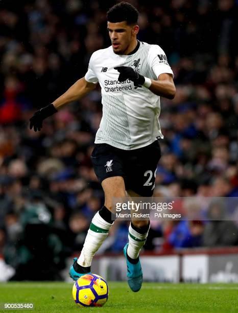 Liverpool's Dominic Solanke