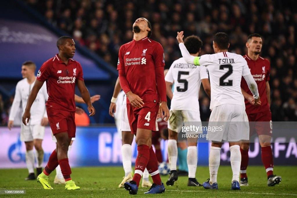 FBL-EUR-C1-PSG-LIVERPOOL : News Photo