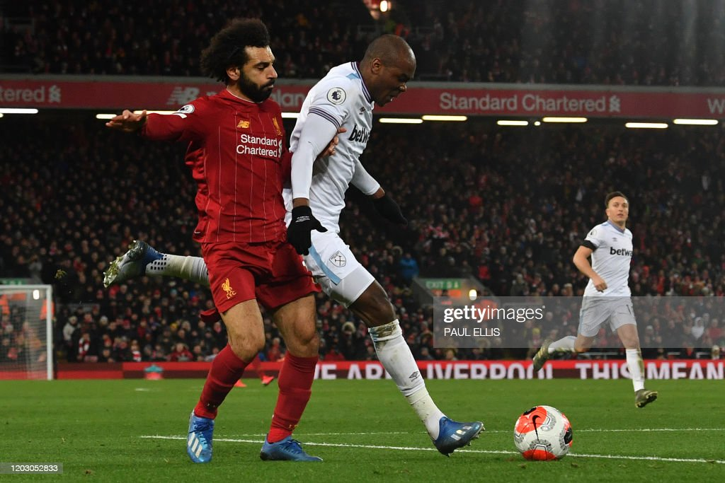 FBL-ENG-PR-LIVERPOOL-WEST HAM : News Photo