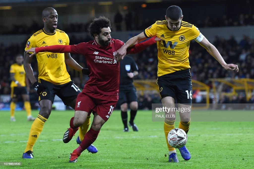 FBL-ENG-FACUP-WOLVES-LIVERPOOL : News Photo