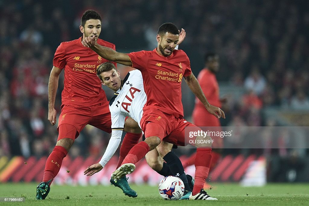 FBL-ENG-LCUP-LIVERPOOL-TOTTENHAM : News Photo