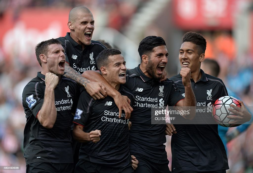 FBL-ENG-PR-STOKE-LIVERPOOL : News Photo