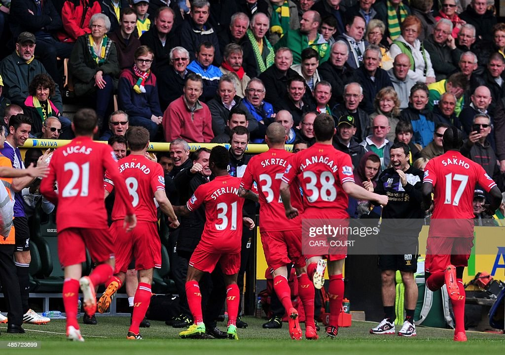 FBL-ENG-PR-NORWICH-LIVERPOOL : News Photo