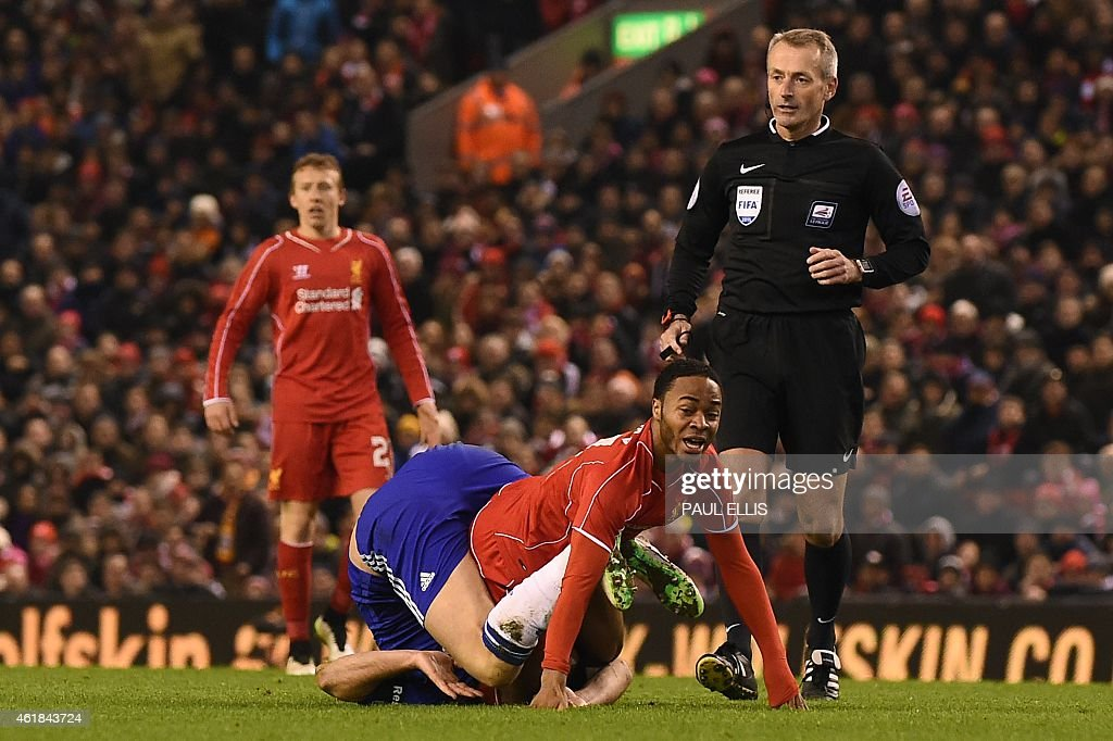 FBL-ENG-LCUP-LIVERPOOL-CHELSEA : News Photo