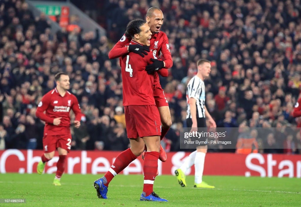 Liverpool v Newcastle United - Premier League - Anfield : News Photo