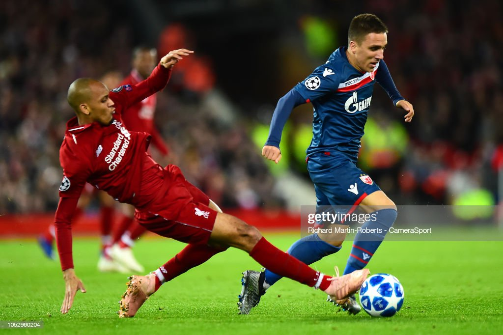 Liverpool v FK Crvena Zvezda - UEFA Champions League Group C : News Photo