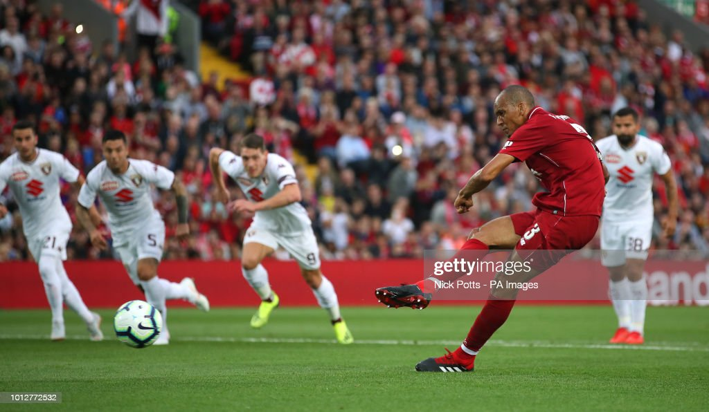 Liverpool v Torino - Pre-Season - Anfield : News Photo
