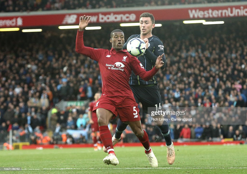 Liverpool FC v Manchester City - Premier League : News Photo