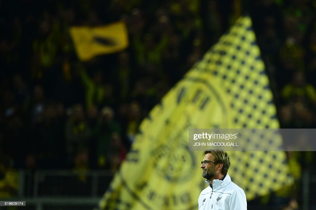 FBL-EUR-C3-DORTMUND-LIVERPOOL : News Photo