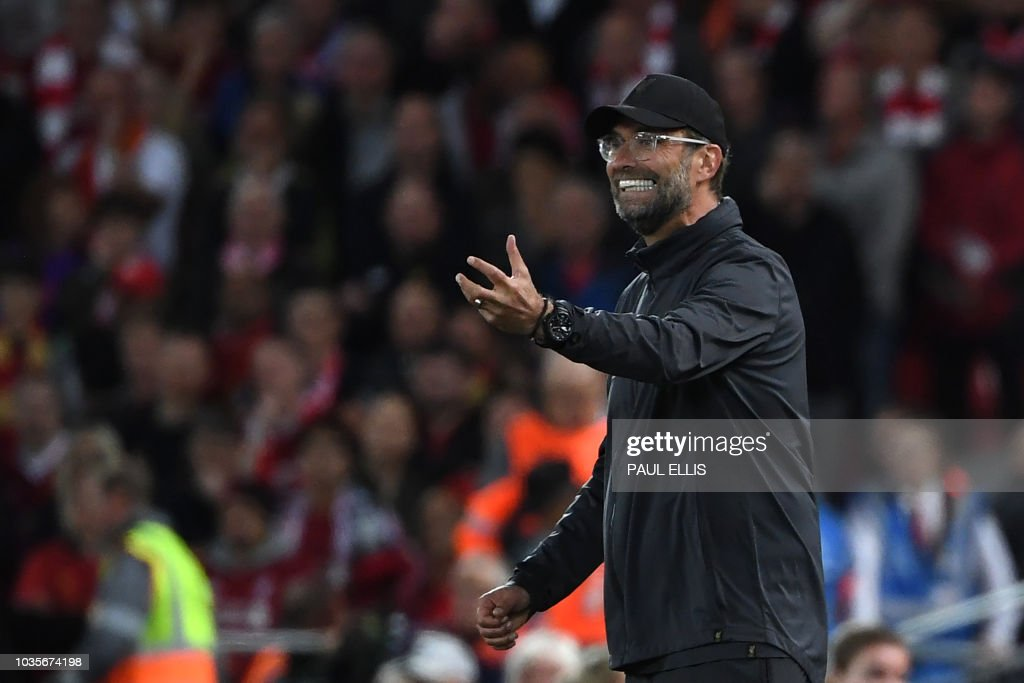 FBL-EUR-C1-LIVERPOOL-PSG : News Photo
