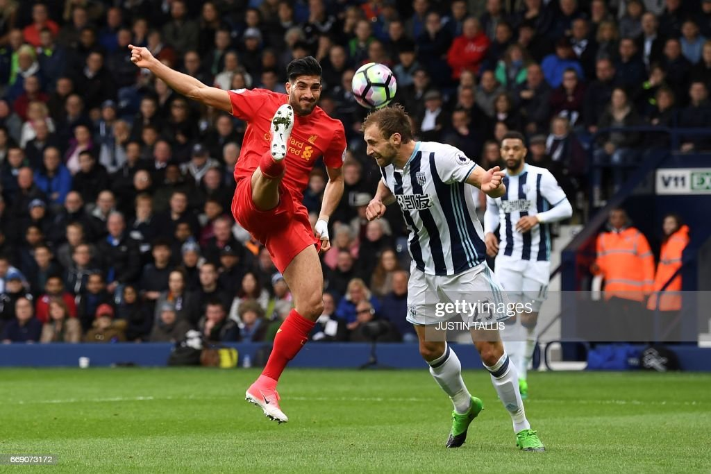 FBL-ENG-PR-WEST BROM-LIVERPOOL : News Photo