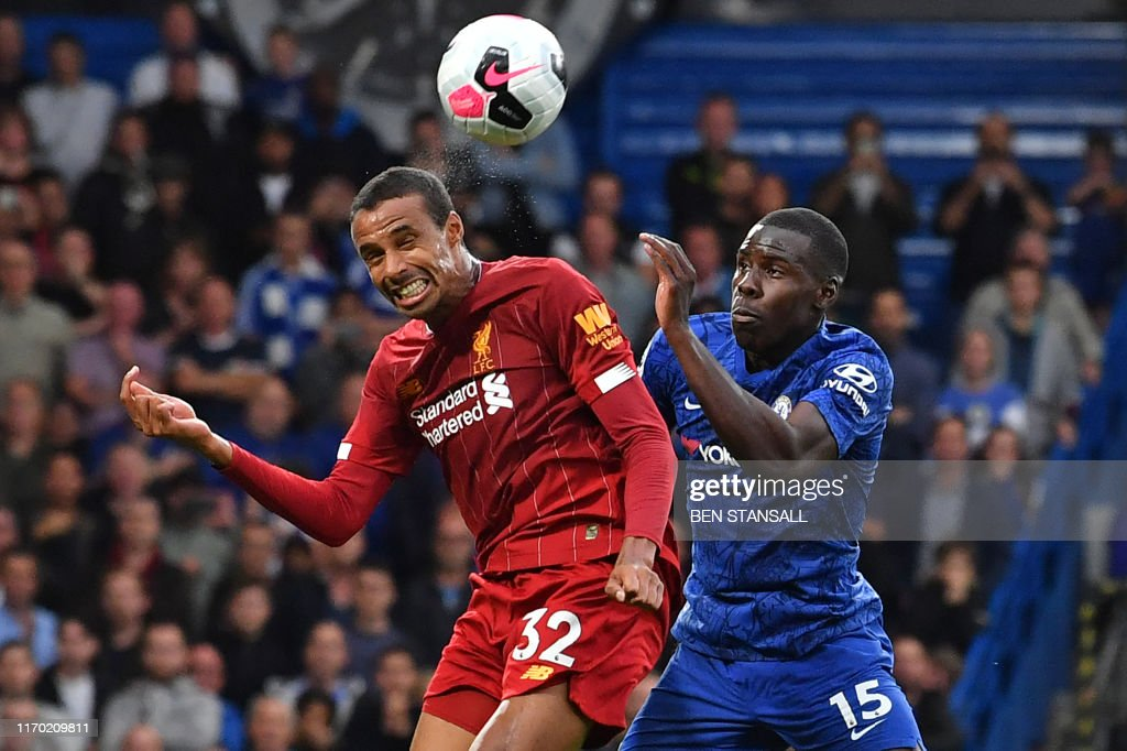 FBL-ENG-PR-CHELSEA-LIVERPOOL : News Photo